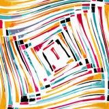 Beautiful abstract gentle graffiti pattern vector illustration Stock Image