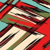 Beautiful abstract gentle graffiti pattern vector illustration Stock Photography