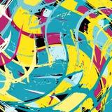 Beautiful abstract gentle graffiti pattern vector illustration. Beautiful abstract gentle graffiti pattern quality vector illustration for your design Stock Images