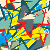 Beautiful abstract gentle graffiti pattern vector illustration Stock Photo