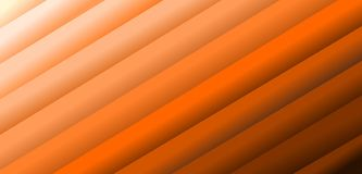 Abstract geometric 3D with differente orange colors background royalty free illustration