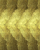Beautiful abstract gold background witch crack. Element for design. Template for design. copy space for ad brochure or announcemen Stock Photography