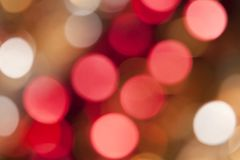 Beautiful abstract of holiday lights Stock Photos