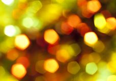 Beautiful abstract of holiday lights Royalty Free Stock Photography