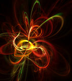 Beautiful abstract illustration. Digital generated this image Stock Photography
