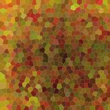 Beautiful abstract illustration of brown and red bright Small hexagon. Handsome background for your needs. Beautiful abstract illustration of brown and red Royalty Free Illustration