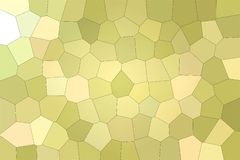 Beautiful abstract illustration of Green and Yellow pastel Big hexagon. Good background for your project. Beautiful abstract illustration of Green and Yellow stock illustration
