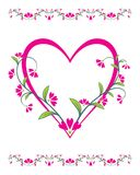 Beautiful abstract illustration for valentine day Royalty Free Stock Images