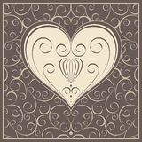 Beautiful abstract illustration for valentine day Stock Image