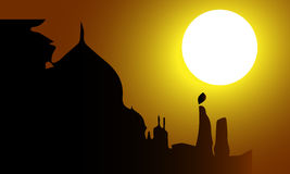 Beautiful  abstract for Incredible India Stock Photo