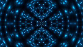 Beautiful abstract kaleidoscope - fractal blue light, 3d render backdrop, computer generating background royalty free stock images