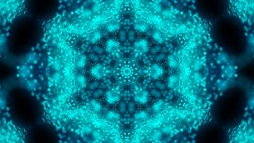 Beautiful abstract kaleidoscope - fractal flower, 3d render backdrop, computer generating background stock illustration