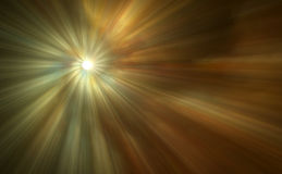 Beautiful Abstract Light Rays. A beautiful abstract digital art background of light rays stock illustration