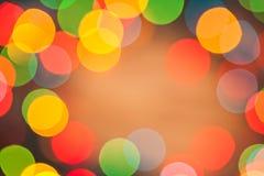 Beautiful abstract lights bokeh Stock Image