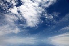 Beautiful abstract nature clouds for background Royalty Free Stock Photography