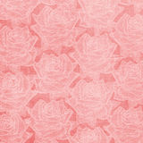 Beautiful abstract paper roses background Stock Image