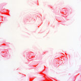 Beautiful abstract paper roses background Stock Photo