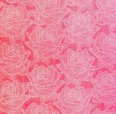 Beautiful abstract paper roses background Royalty Free Stock Image