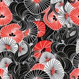 Beautiful abstract pattern Stock Image