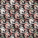 Beautiful abstract pattern psychedelic graffiti Stock Images