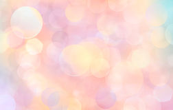 Beautiful abstract pink background of holiday lights Stock Images