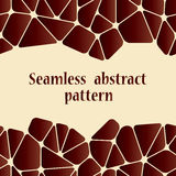 Beautiful abstract seamless pattern. Royalty Free Stock Photos