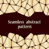 Beautiful abstract seamless pattern. Royalty Free Stock Images