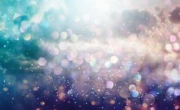 Abstract light and cludscape background Stock Photography