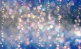 Beautiful abstract shiny light background. Beautiful abstract shiny light and glitter background Stock Images