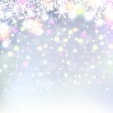 Beautiful abstract snowflake Christmas background Stock Photo