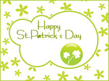 Beautiful abstract st. patrick's day Royalty Free Stock Image