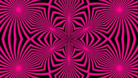 Beautiful abstract symmetry kaleidoscope with bright lines, 3d rendering backdrop, computer generating. Background Royalty Free Stock Images