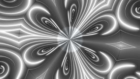Beautiful abstract symmetry kaleidoscope with shiny neon lines, 3d render backdrop, computer generating background. Beautiful abstract symmetry kaleidoscope with royalty free illustration