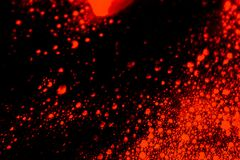 Beautiful abstract texture color black orange and lava red wall background on the darkness stone pattern colorful fire backgrounds