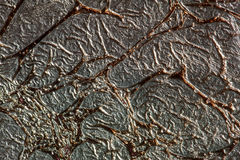 Beautiful abstract texture of the foil Stock Image