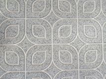 Beautiful abstract texture tiles floor and rock plate color black and white pattern background and wallpaper. Art royalty free stock image