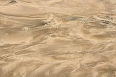 The beautiful abstraction with a sand image Stock Image