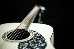 Beautiful acoustic guitar Royalty Free Stock Image