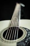 Beautiful acoustic guitar Royalty Free Stock Photos