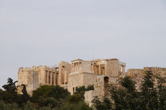 Beautiful Acropolis in Athens, Greece. Stock Photography
