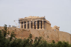 Beautiful Acropolis in Athens, Greece. Royalty Free Stock Image