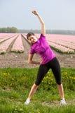 Beautiful active woman Royalty Free Stock Photos