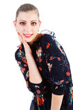 Beautiful adorable young blond girl Stock Photography