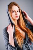 Beautiful adorable young girl Stock Photography