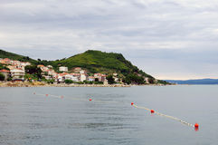 Beautiful Adriatic landscape near Split Royalty Free Stock Photo