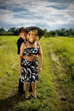 Beautiful adult couple portrait Royalty Free Stock Photos