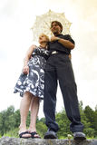 Beautiful adult couple portrait Royalty Free Stock Image