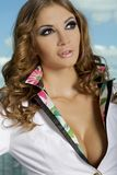 Beautiful adult sensuality woman Royalty Free Stock Photography