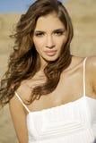Beautiful adult sensuality woman. Portrait of a beautiful adult sensuality and attractive woman Royalty Free Stock Image