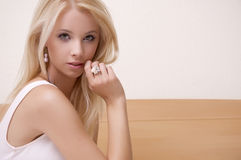 Beautiful adult sensuality woman Royalty Free Stock Photos